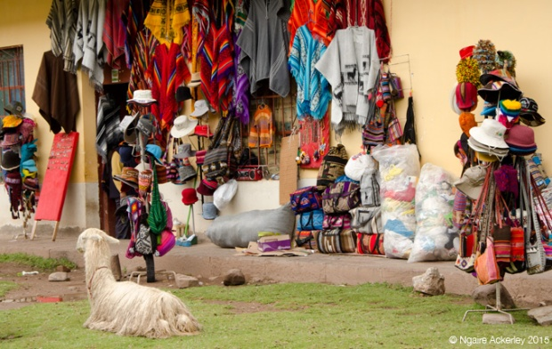 Tourist shops in Cusco