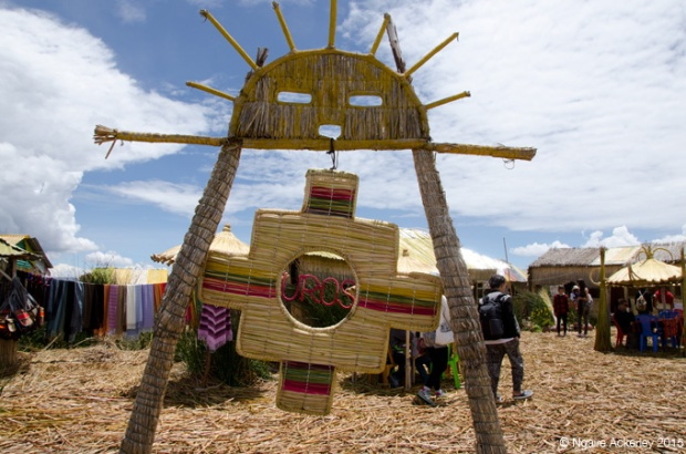 Uros, floating island from Puno