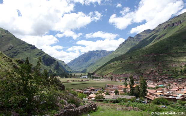 View over Pisac, Sacred Valley