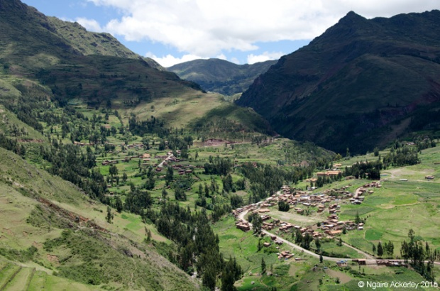 View over Pisac