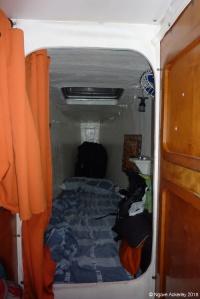 My cabin on the Nacar 2