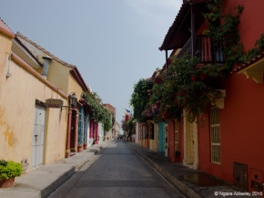 Cartagena Colourful Houses