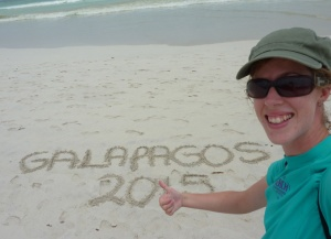Me in the Galapagos