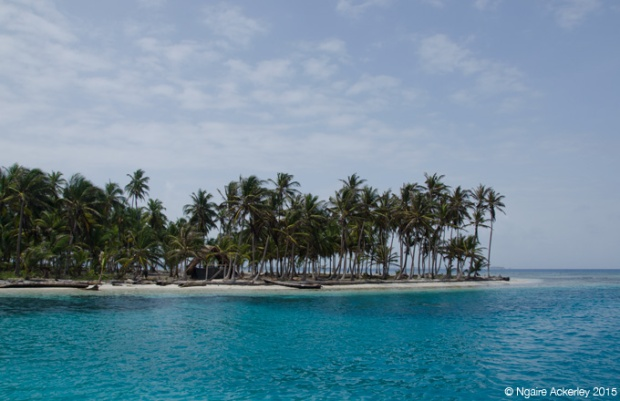 An island in the San Blas