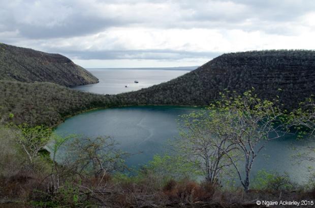 Crater Lake at Tagus Cove, Isabela Island