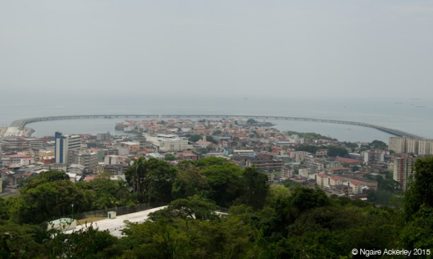 View of the Old Town from Ancon Hill