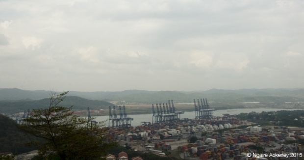 Panama Canal from Ancon Hill