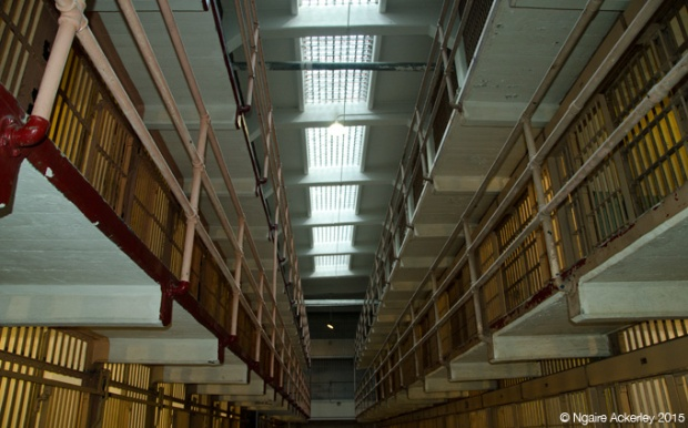 Cell blocks, Alcatraz