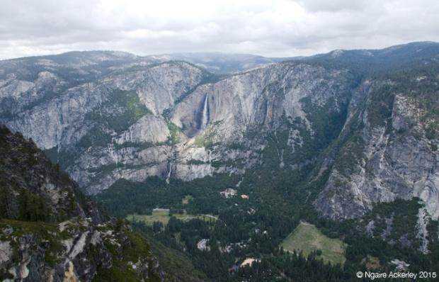 Glacier Point with Yosemite Falls