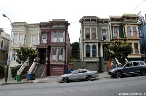 Houses at Haight Ashbury