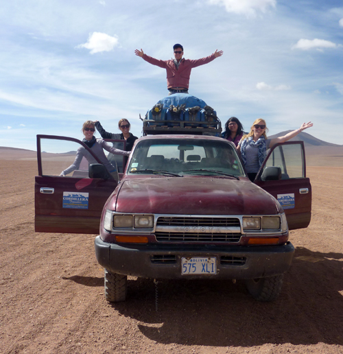 4WD Group in Bolivia