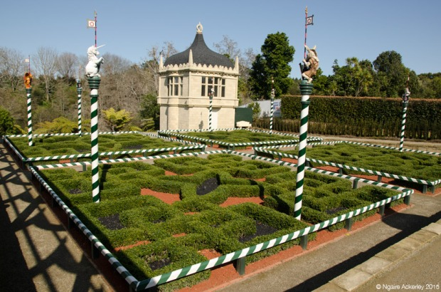 The new Tudor Garden at Hamilton Gardens