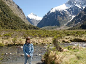 Monkey Creek, near Milford Sound, New Zealand