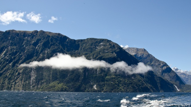 Milford Sound clouds