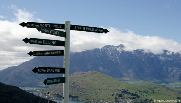 Signs in Queenstown