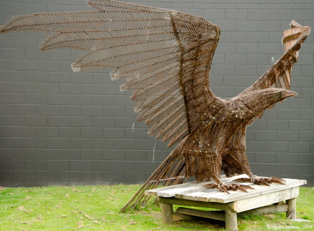Bird Sculpture - Glenorchy Cafe