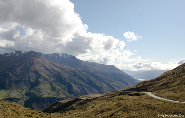 Road viewpoints over the Crown Range