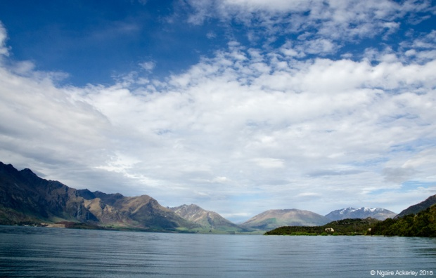 Scenery on the drive to Glenorchy