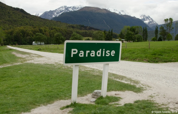 Sign to Paradise, NZ