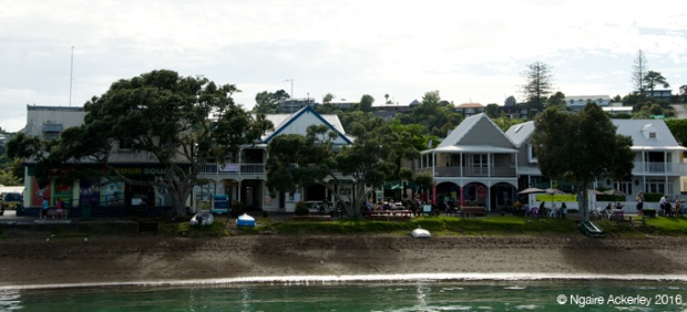 Buildings in Russell, Bay of Islands