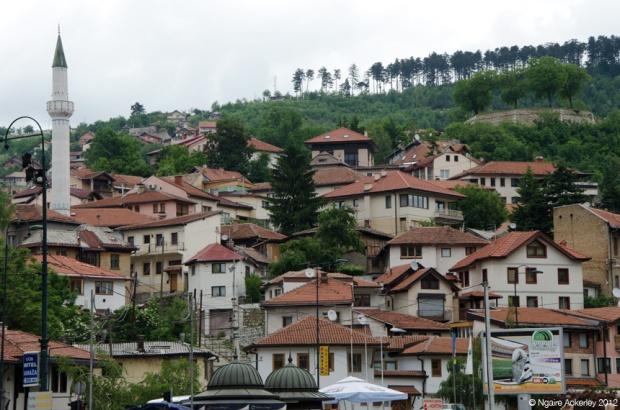 Sarajevo, capital city of Bosnia