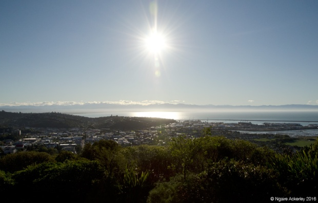 View from the Centre of New Zealand, Nelson