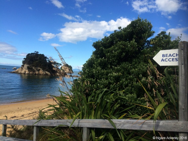Beach access to Little Kaiteriteri