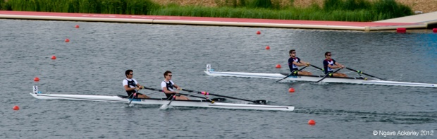 Mens Double Sculls, London Olympics 2012