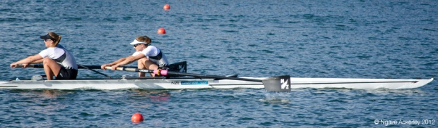 Coxless Pair: Juliette Haigh, Rebecca Scown London 2012 Olympic Games