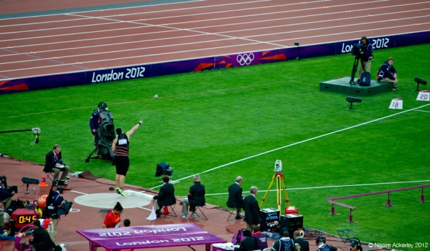 London Olympics Shot Put Final - Valerie Adams
