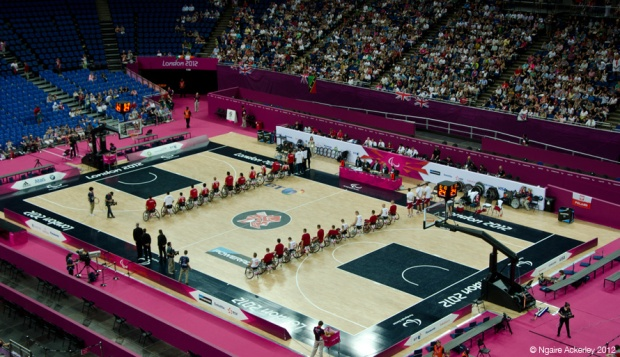 London Paralympics: Wheelchair Basketball