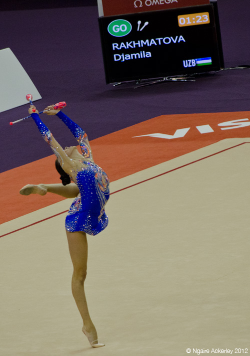 London Prepares Rhythmic Gymnastics
