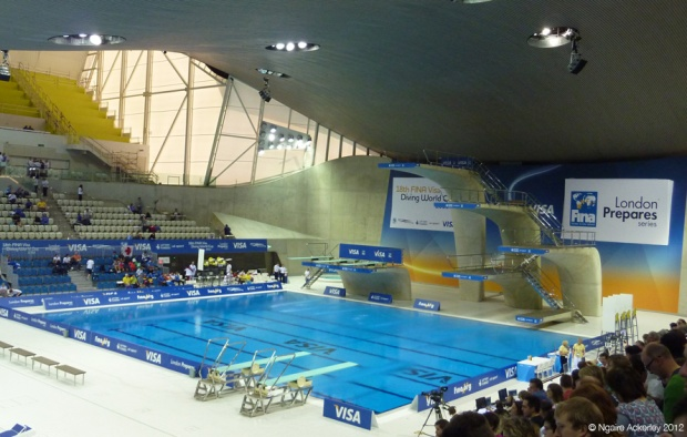 London Prepares - Diving Venue
