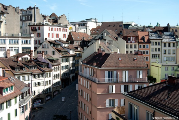 Old Town, Lausanne