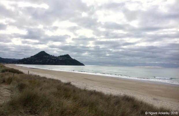 Pauanui Beach on a Winter's Day