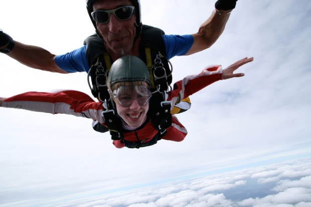 Skydiving in Taupo, NZ