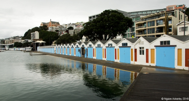 Boat houses, Wellington