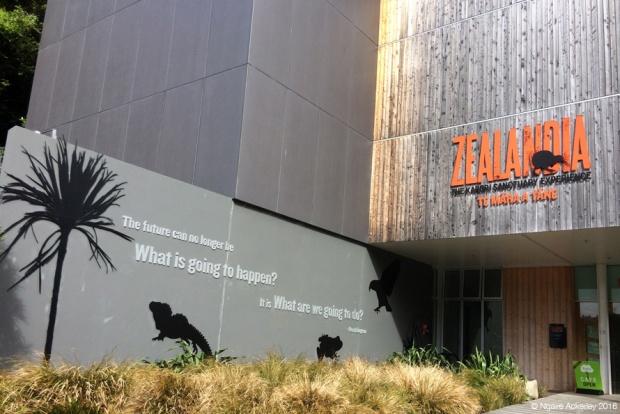 Zealandia entrance