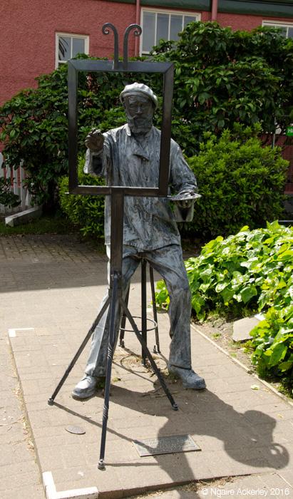 Charles Meryon sculpture