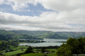 View towards Akaroa