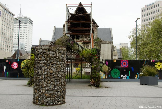 Christchurch Cathedral - possibly the hardest building to see