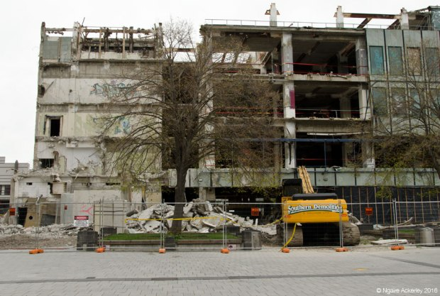 Christchurch destruction