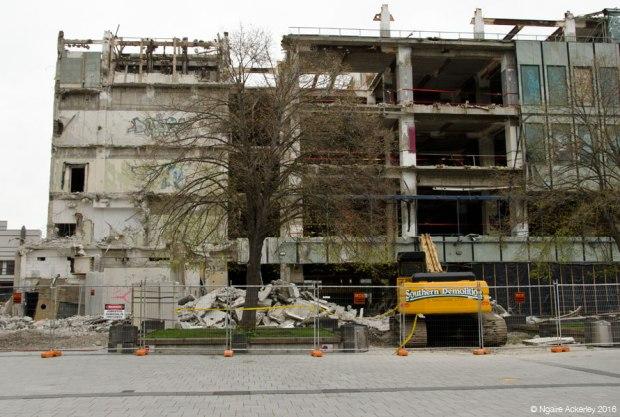 Christchurch destruction