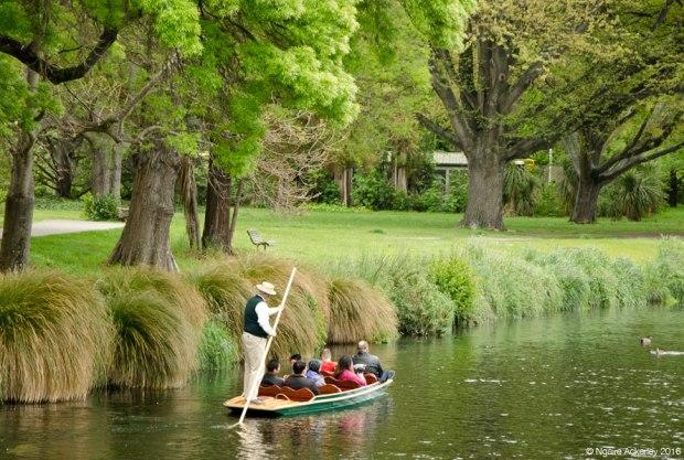 The River Avon, Christchurch