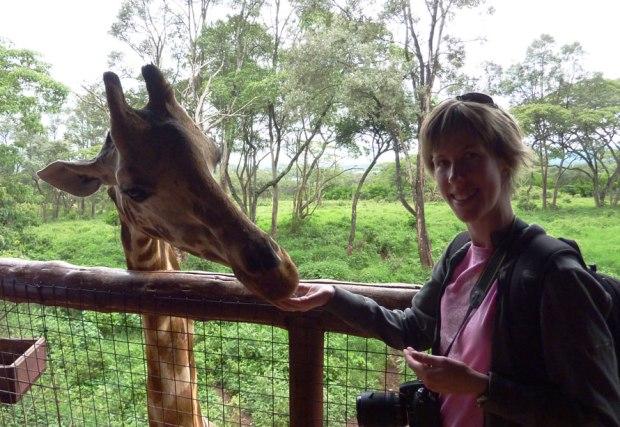 Giraffe Sanctuary, Nairobi, Kenya