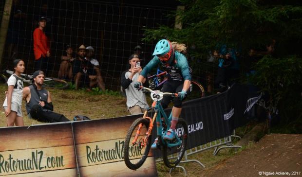 Downhill rider, Crankworx Rotorua