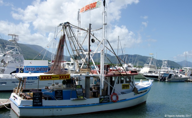 Fresh Seafood in Cairns - by boat
