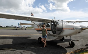 Me with the plane