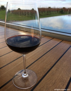 Wine at Elephant Hill Winery