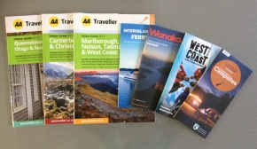 Travel information brochures